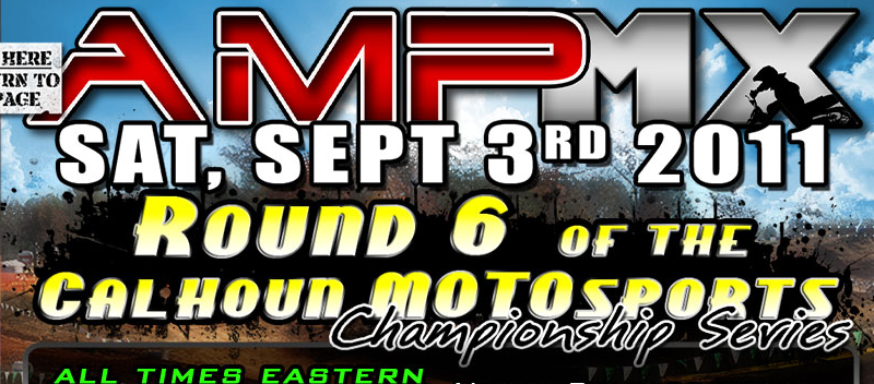 AMPMX Saturday Sept 3rd Event Info