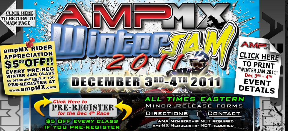 AMP MX Winter Jam