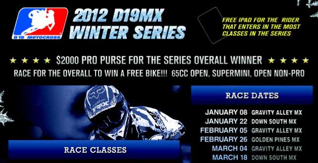 2012 D19MX Winter Series