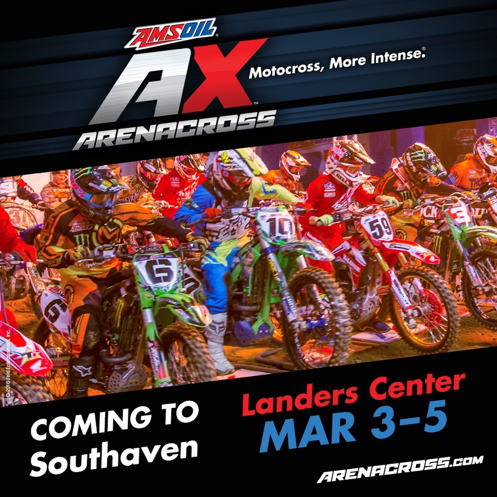 Amsoil Arenacross Coming to Southaven March 3-5th
